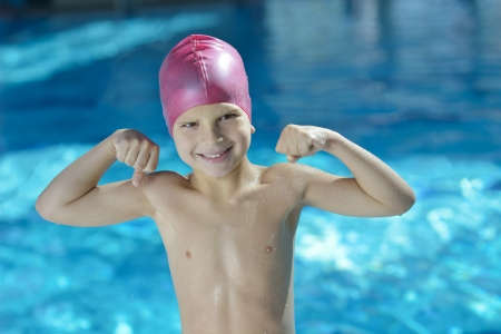 16638314 - happy chid have fun on swimming pool
