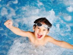 6759164 - children at pool, happiness and joy